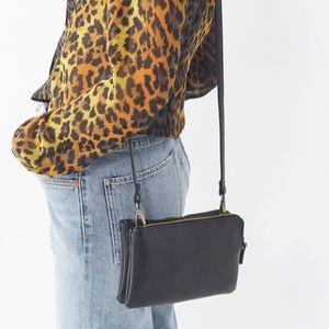 NEW UO Double ZIP Crossbody Bag